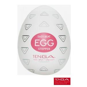 Masturbateur Tenga Egg Stepper - Nervures arrondies haut/bas
