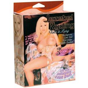 Poupée gonflable Jezebel Ryding par NMC