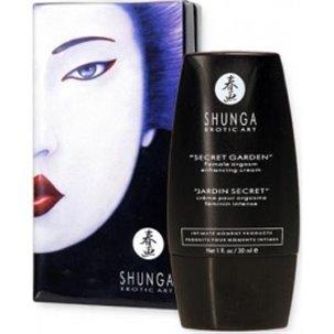 Crème orgasme Secret garden Shunga