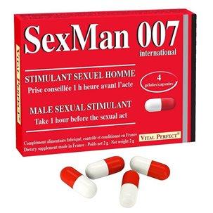 Sex Man 007 - 4 gélules Vital Perfect