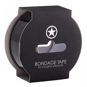 Bondage Tape Noir - 17 Métres Ouch