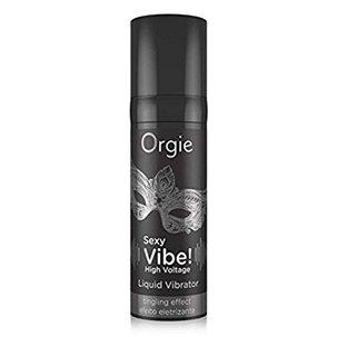 Sexy vibe high voltage gel excitant pour elle et lui 15ml Orgie