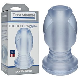 Gode Anal Creux Transparent - The Hollow Doc Johnson