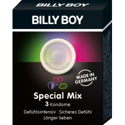 3 preservatifs BILLY BOY Special Mix