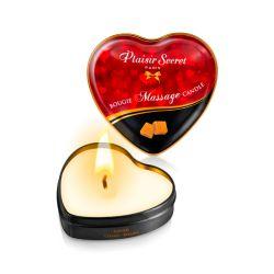Mini Bougie de massage caramel Plaisir secret