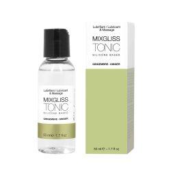 Tonic Gingembre 50 ml Lubrifiant Silicone Mixgliss
