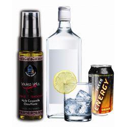 Huile de la Tentation Vodka energy- flacon 35ml - VOULEZ-VOUS...
