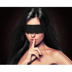Bandeau Mystère Noir en soie OUCH