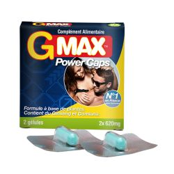 Gmax power caps - 2 gélules