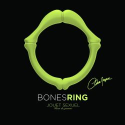 Anneau Bones Ring Phosphorescent en silicone Clara Morgane