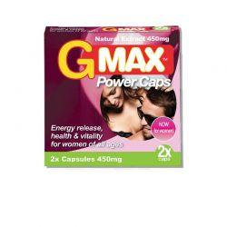 Gmax power caps - 2 gélules