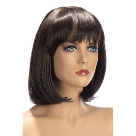 Perruque Mi Longue camila Chatain World Wigs