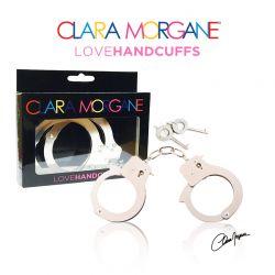 Menotte Love Handcuffs Fourrure 3 couleurs aux choix Clara Morgane